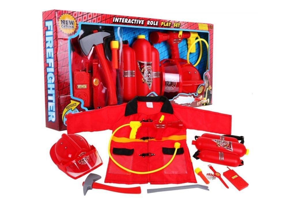Majlo Toys sestava Malý hasič s helmou