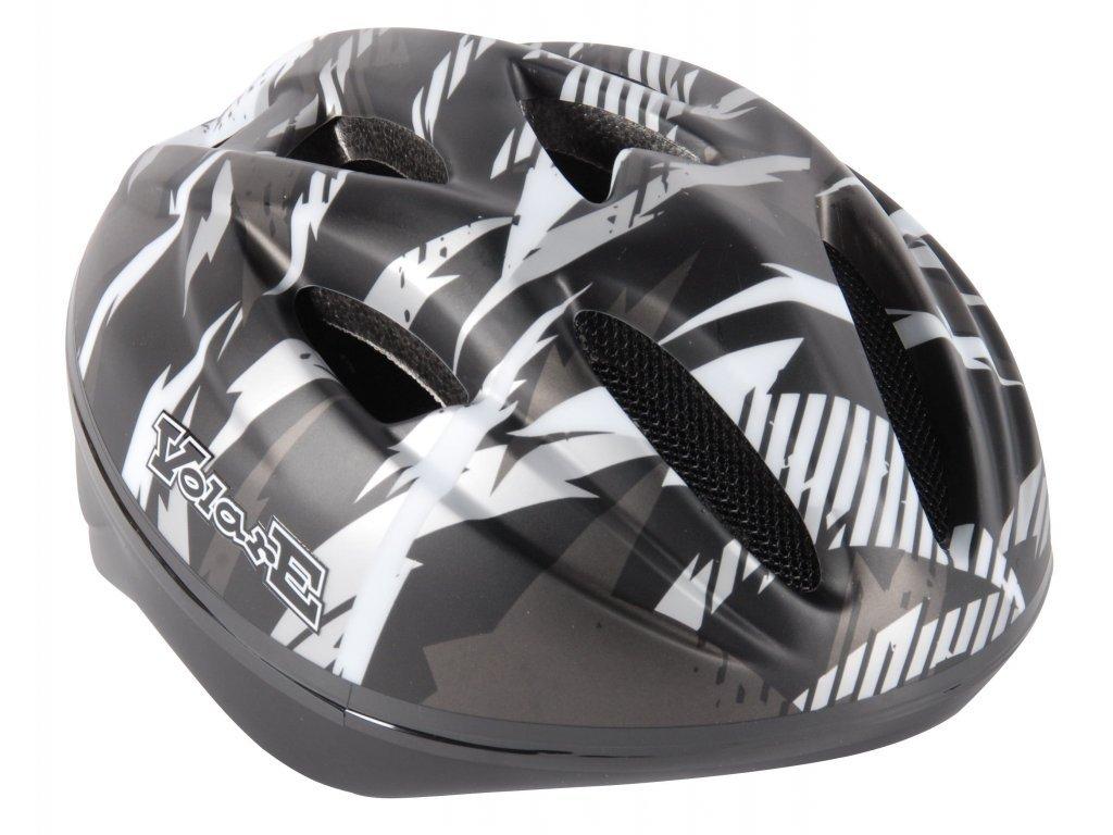 Dětská helma Volare Deluxe Black