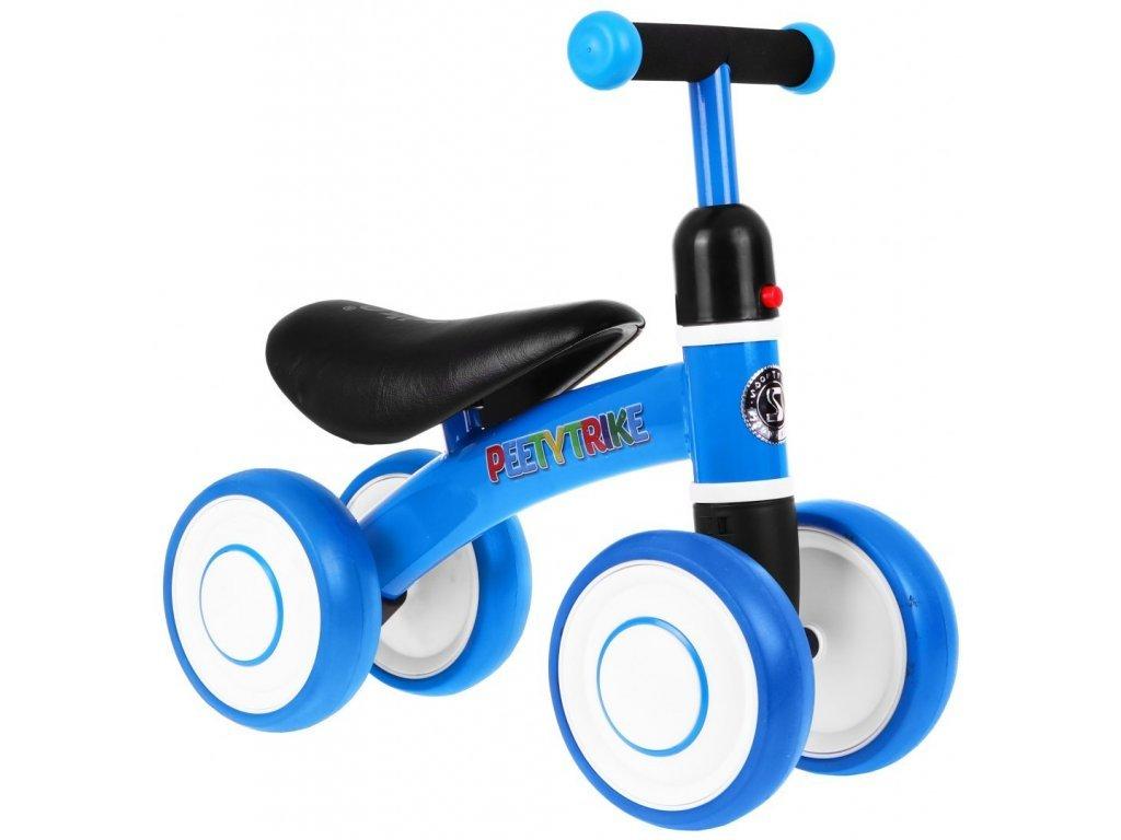 Mini dětské odrážedlo Peety Trike modré