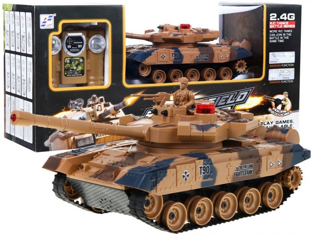 Vojenský tank na dálkové ovládání Battlefield Pioneer 1:24