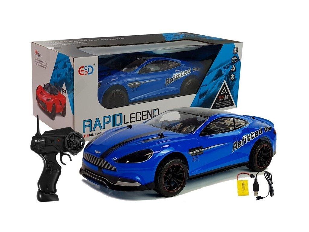 Závodní auto na dálkové ovládání Rapid Legend modré 1:10
