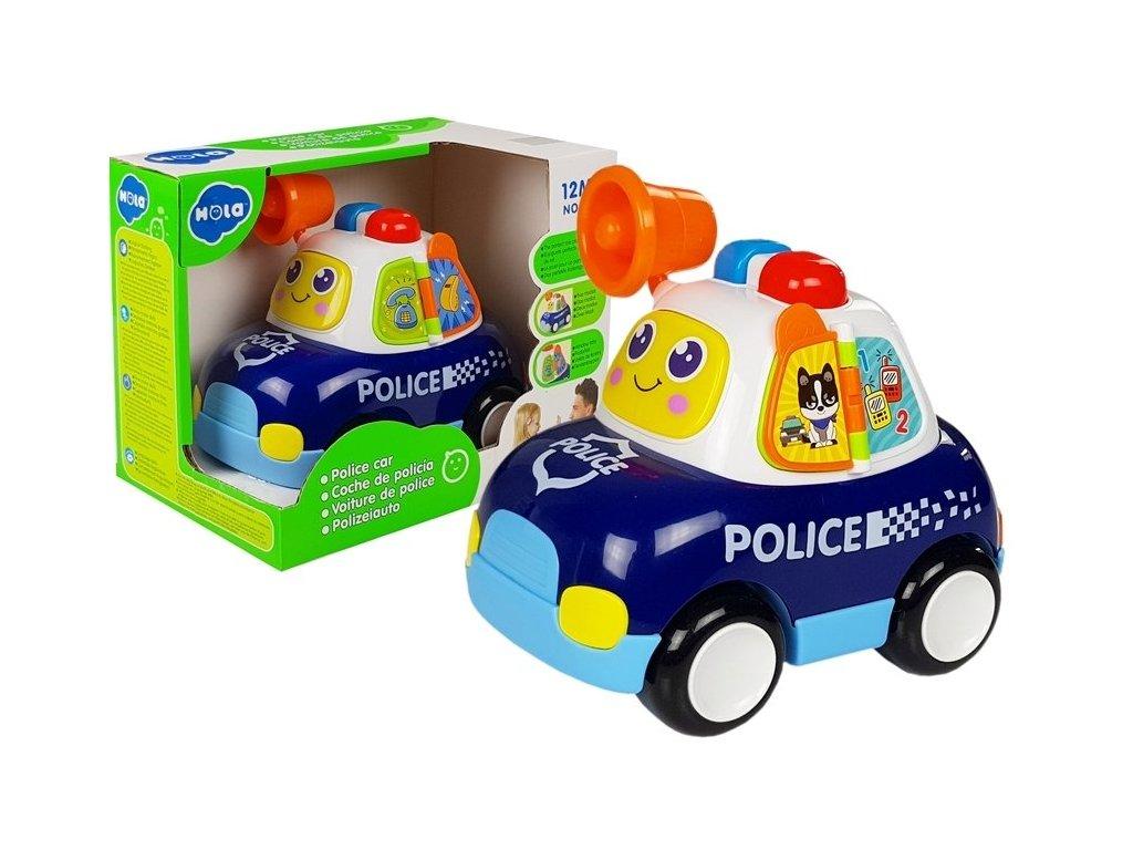 Huile Toys policejní auticko pro nejmensi