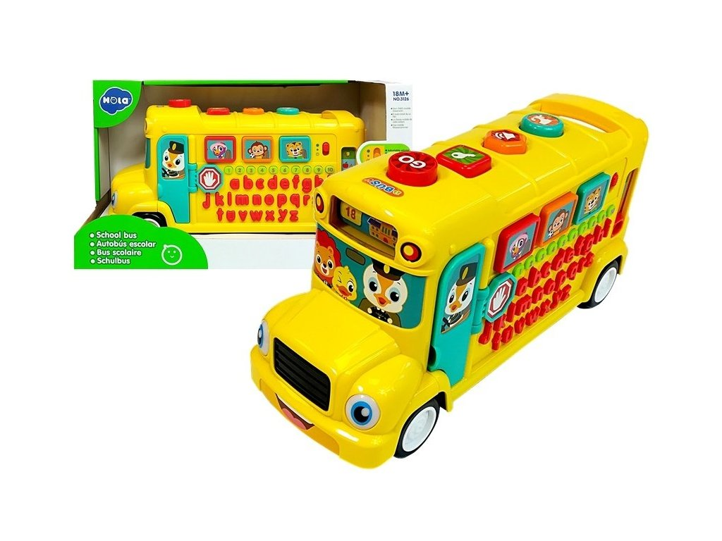 Huile Toys interaktivni autobus
