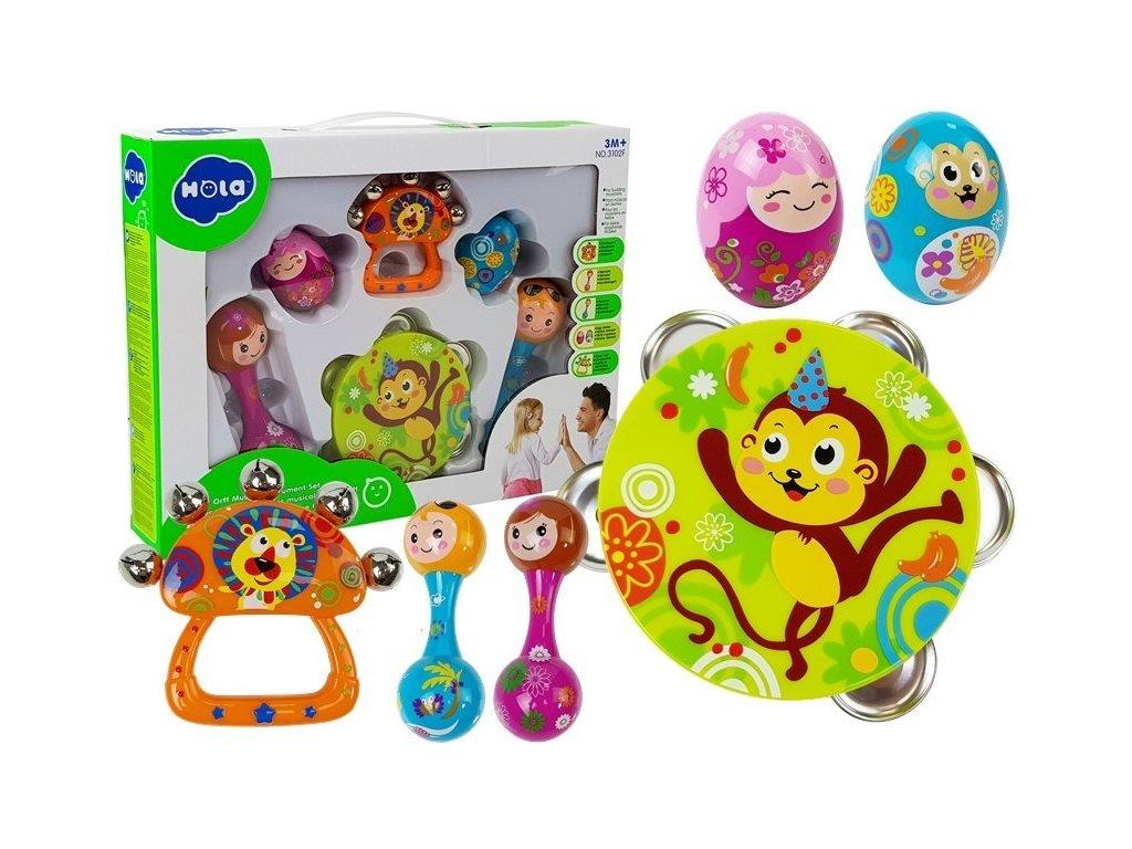 Huile Toys Carl Orff souprava hudebnich nastroju 8