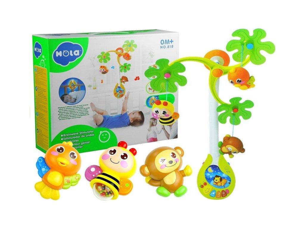 Huile Toys kolotoc nad postylku tropicky les