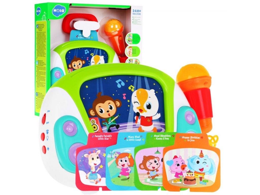 Huile Toys Karaoke pro nejmensi