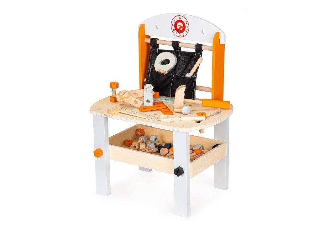 Ecotoys dreveny ponk pro deti Workbench