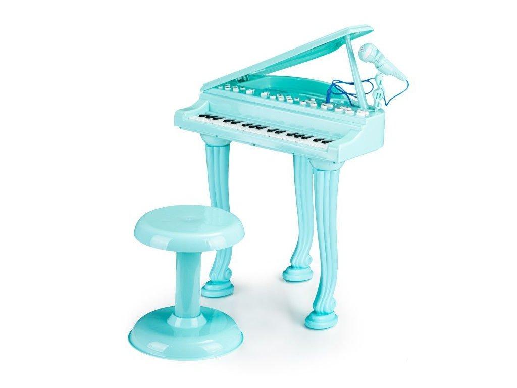 Ecotoys detske piano modra