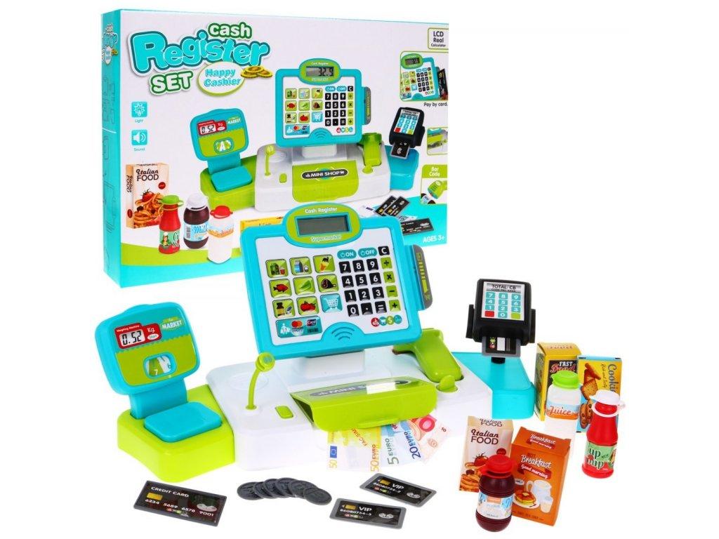 detska elektronicka pokladna Happy Cashier
