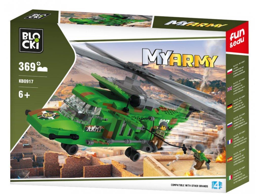 Blocki bojovy vrtulnik 369 dilku