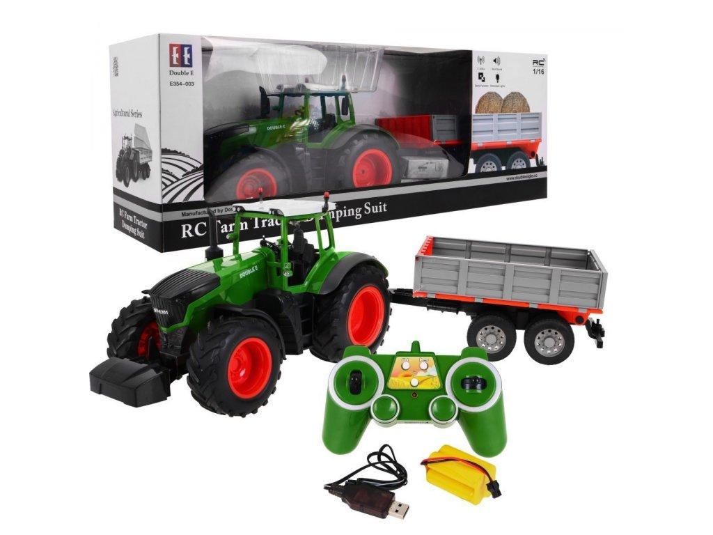 Traktor na dalkove ovladani 1 16