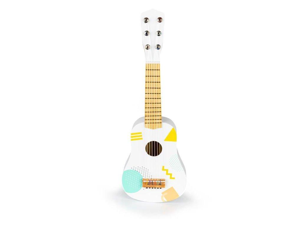 Ecotoys kytara pro deti bila