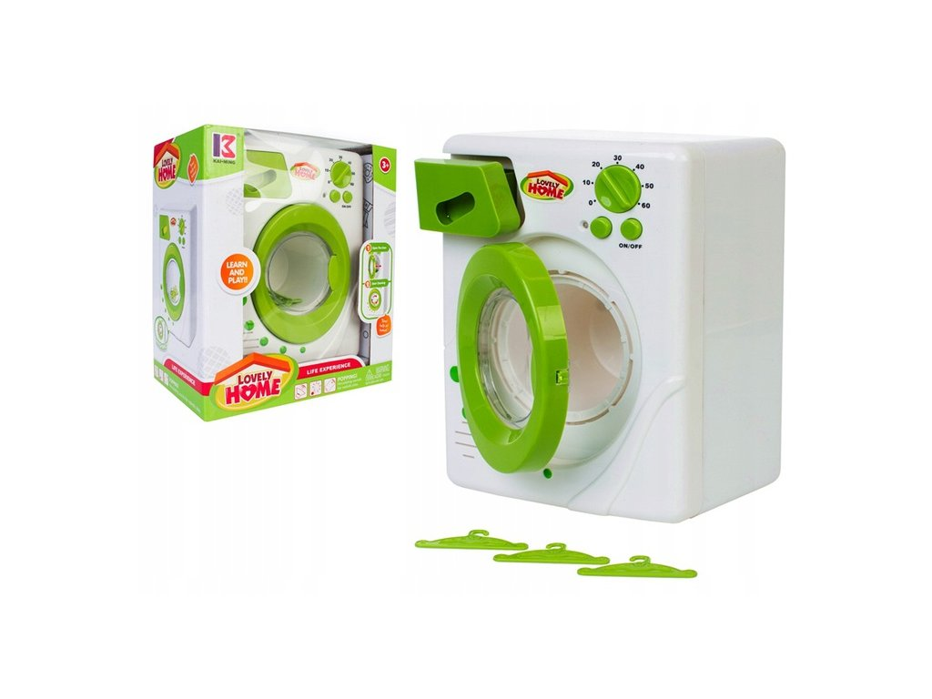 Doris detska pracka zelena