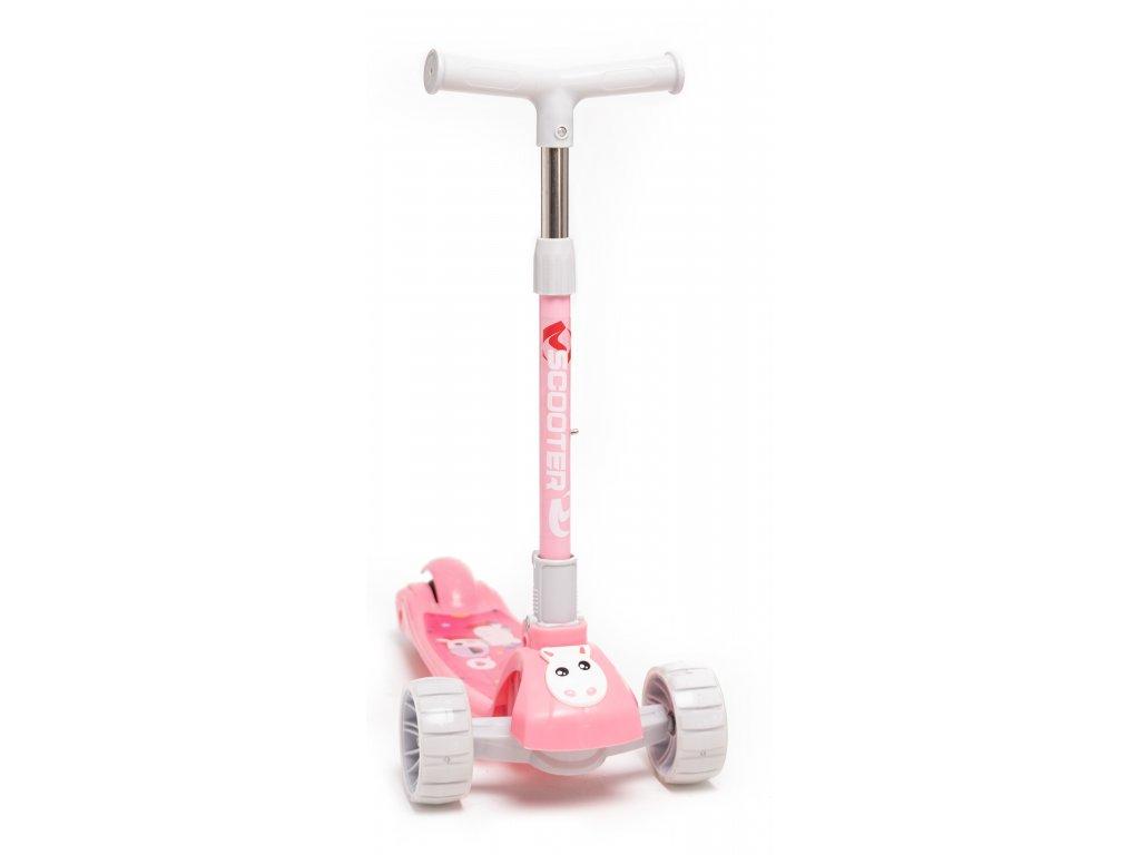 detska kolobezka pink Horse