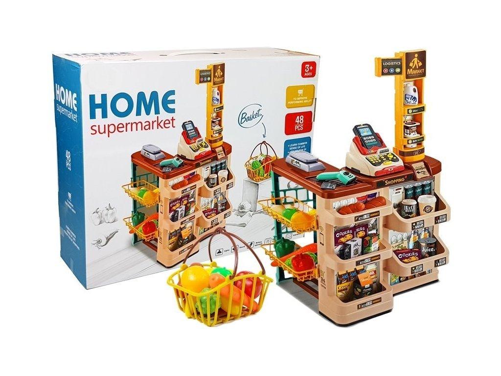 detsky supermarket hnedy