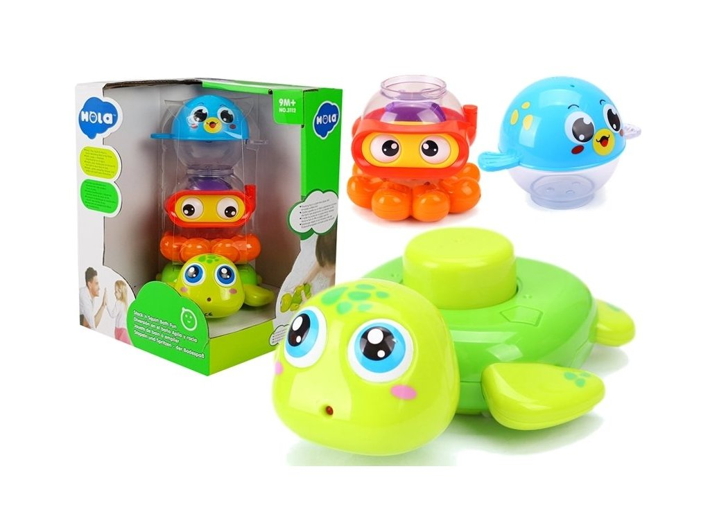 Huile Toys zviratka do koupele Bath Animal