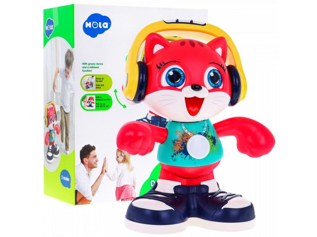 Huile Toys tancici kocicka Dancing Cat