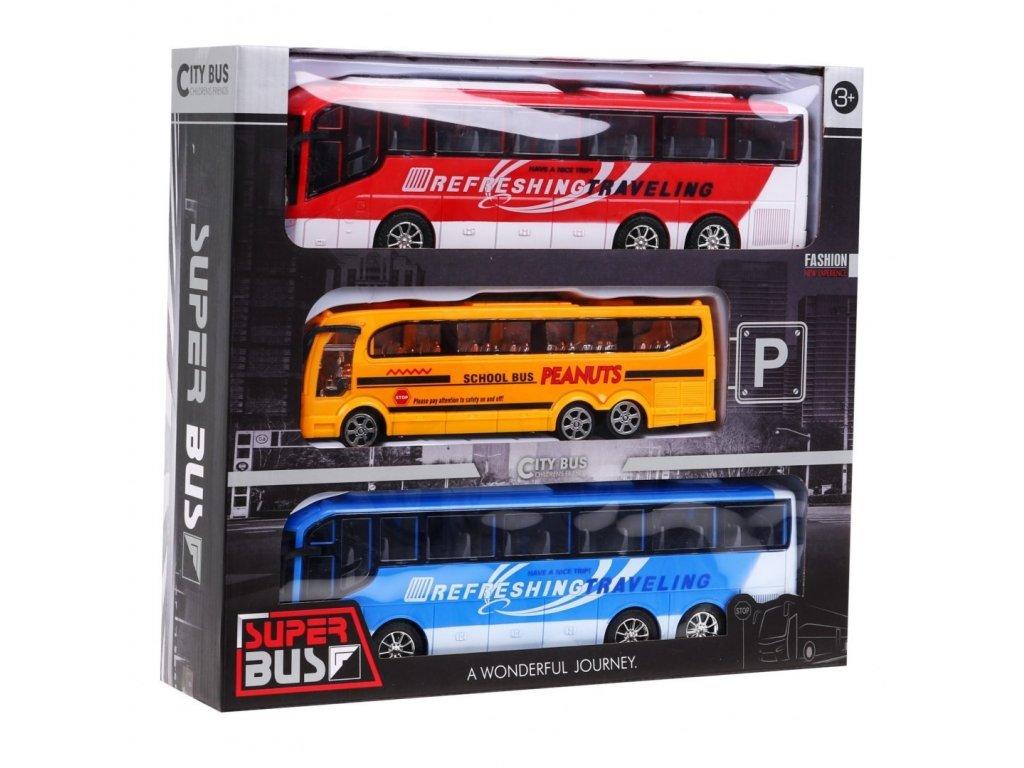 sestava 3 autobusy na setrvacnik 14