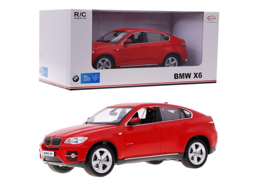 auto na dalkove ovladani BMW X6 cervene 1 14