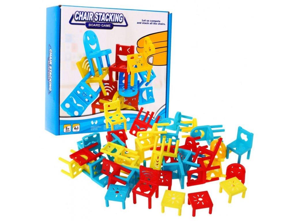 detska hra poskladej kresla