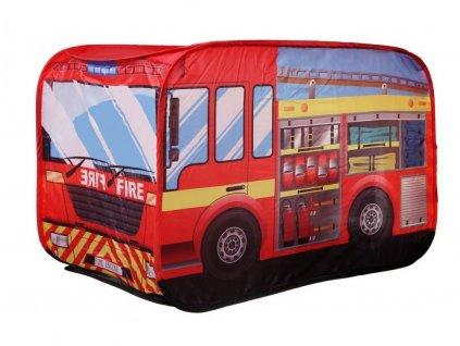 Ecotoys dětský stan Požární auto