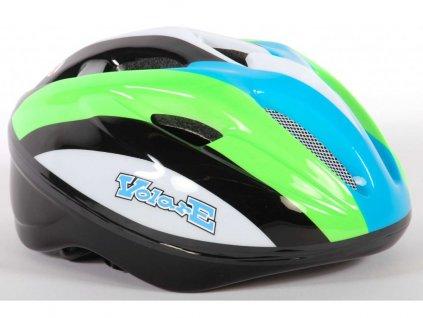 Dětská helma Volare Deluxe Green