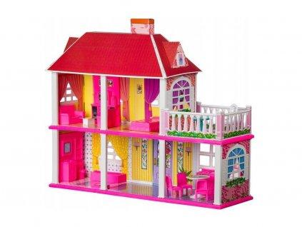 Doris domeček pro panenky s nábytkem Lovely Villa