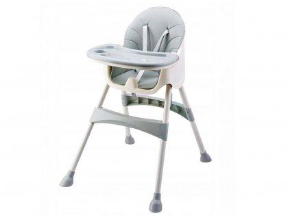 Ecotoys jídelní židlička 2v1 Azzure HC823