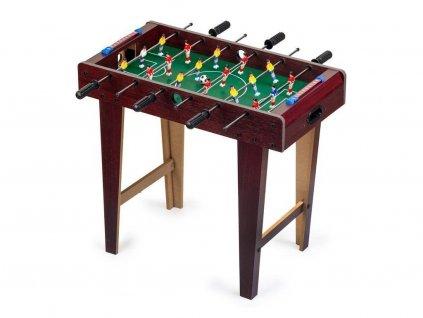 Ecotoys stolní fotbal 69x37 cm Aréna hnědý