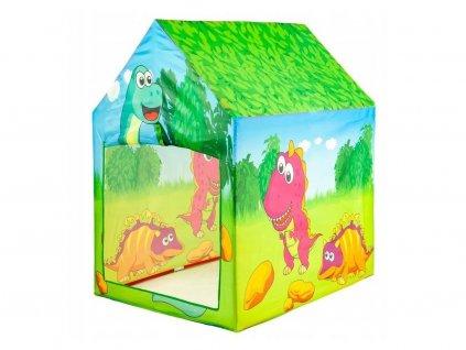 Ecotoys dětský stan Dinosauři
