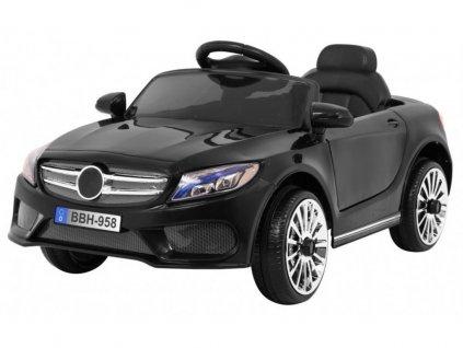 Dětské elektrické autíčko Best černé