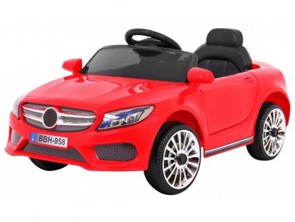 Dětské elektrické autíčko Best červené