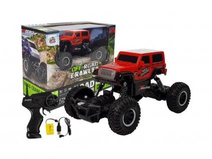 Auto na dálkové ovládání Road Truck červené 1:20