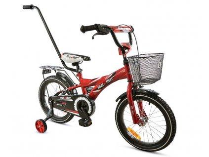 Mexller detsko kolo s vodici tyci 12 cervene