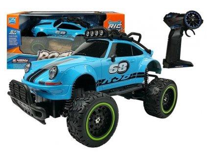 Auto na dalkove ovladani Brouk modre