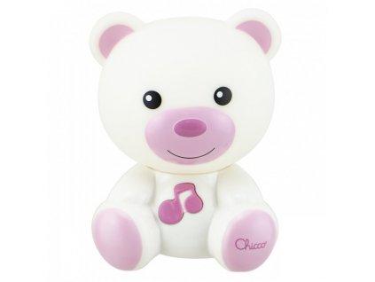 Chicco noční světlo Medvídek růžové