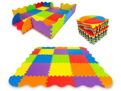 Ecotoys hraci deka penova 91x91