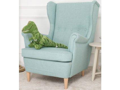 Plysovy dinosaurus Dino zeleny 70 cm