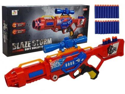 Blaze Storm Red samopal