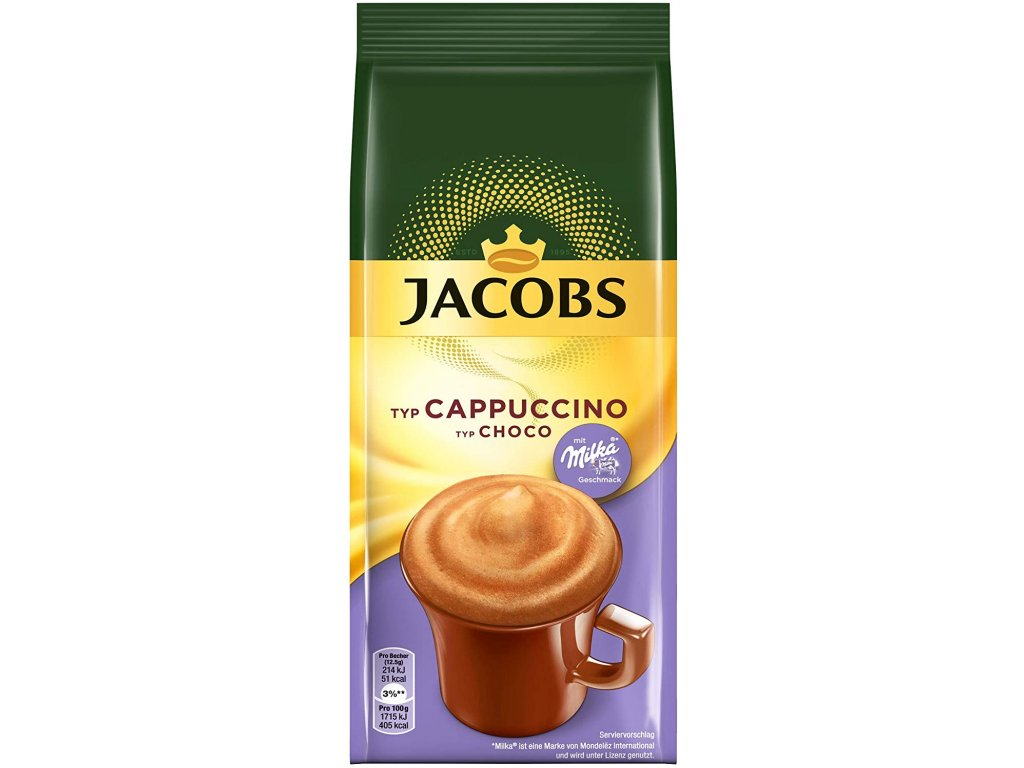 Jacobs Momente Choco Cappuccino Choco Cappuccino Milka NF 500 g large