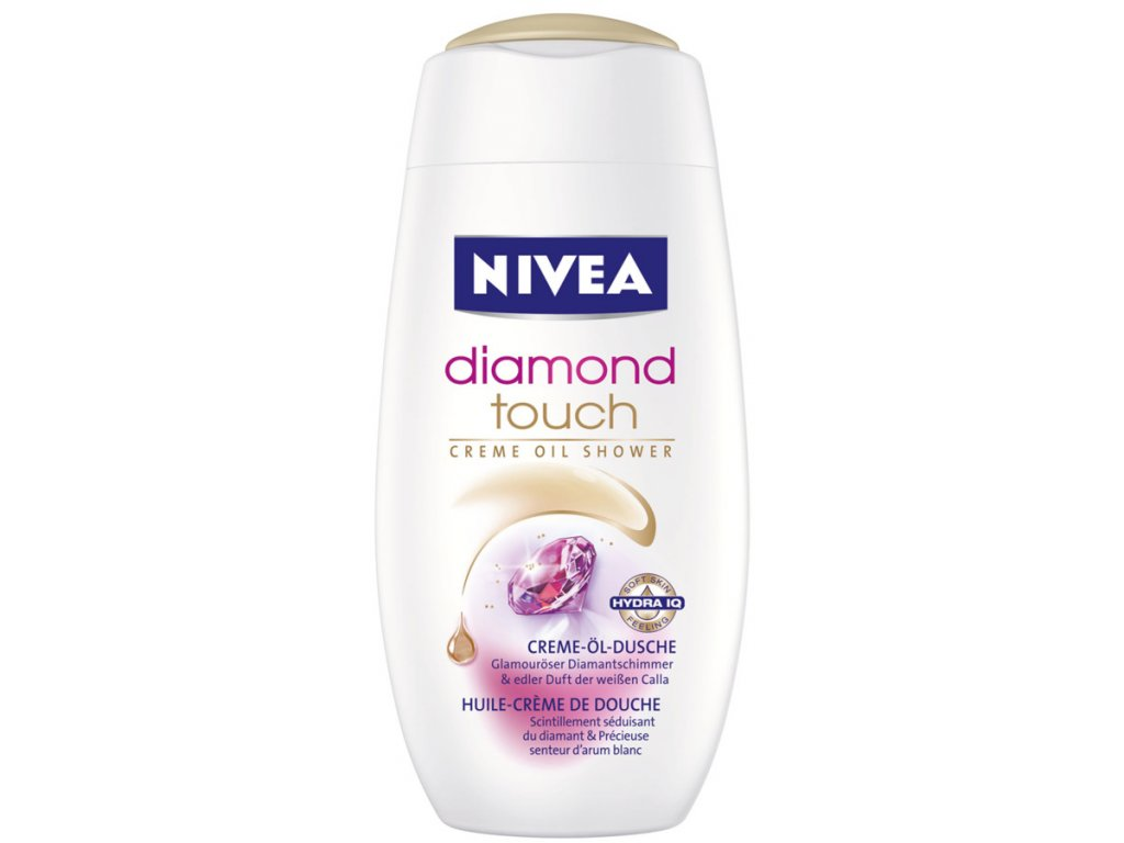 239 nivea sprchovy gel diamond touch