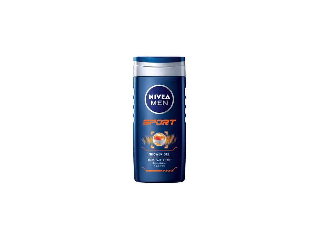 255 nivea men sprchovy gel sport