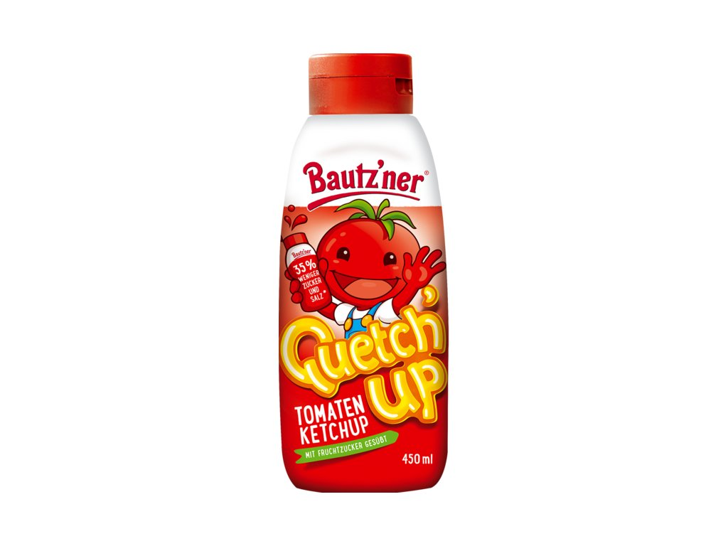 bautzner quetchup tomatenketchup 450 ml squeeze flasche