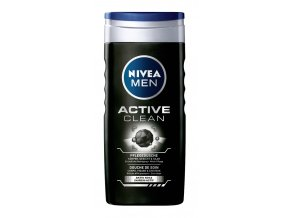 252 nivea men sprchovy gel active clean