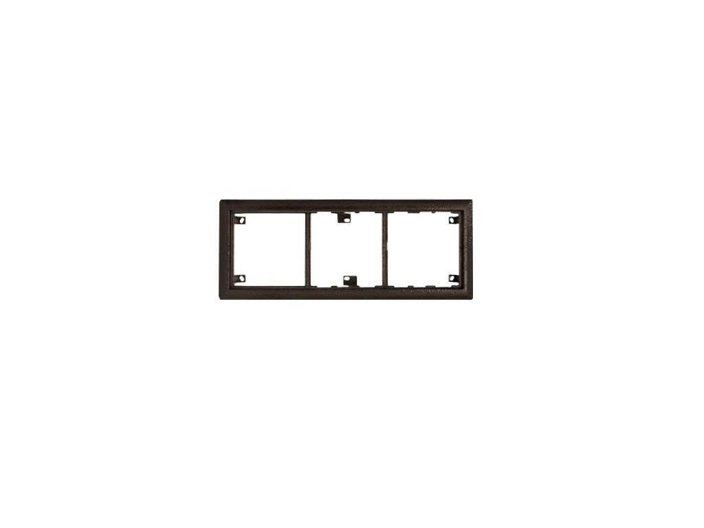 Montážny rám 3B - KARAT, antika strieborná