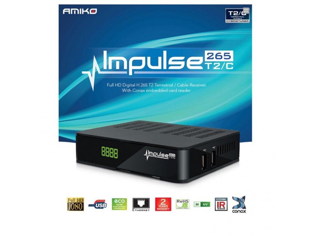 Amiko Impulse DVB-T/T2/C H265