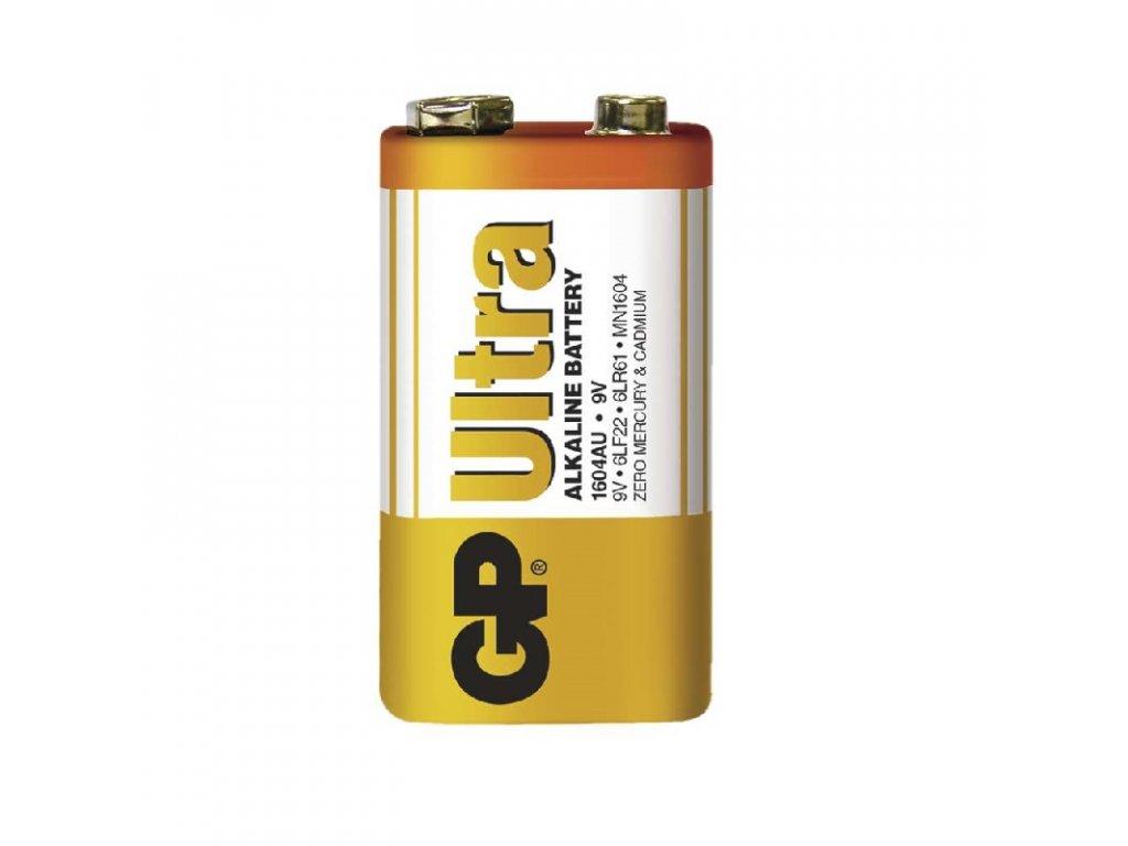 Batéria 1604U GP, 9V, ultraalkalická