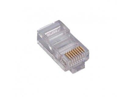 RJ45 8P8C 8-PIN Ethernet vidlica - drôt
