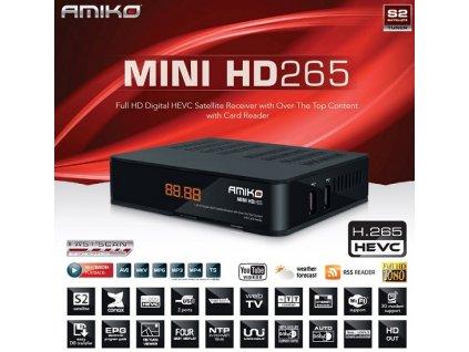 Amiko Mini HD265 HEVC CX Multimedia