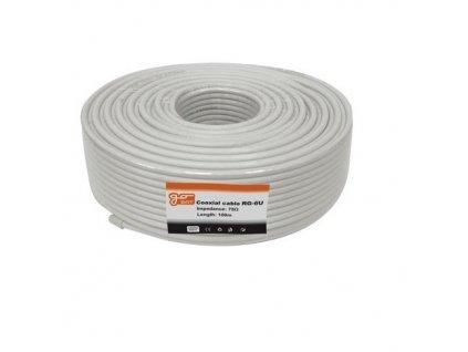 Koaxiálny kábel RG6U GoSat / BigSat - 100m cievka